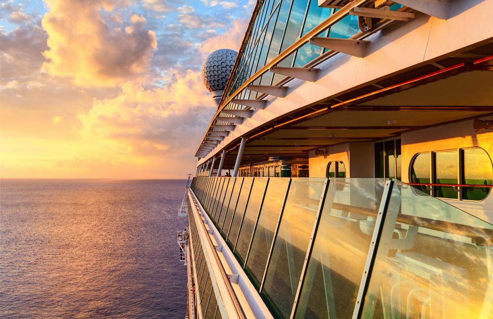 cruise-at-sunset