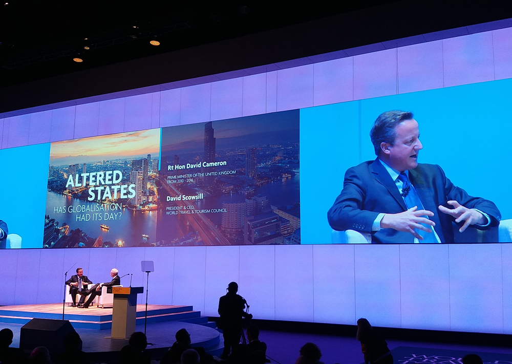 David Cameron speaks at WTTC Global Summit | TTG Asia