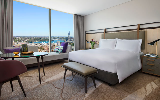 Touted As The First New Build Five Star Hotel Sydney Has Seen In More Than A Decade Property Offers 590 Guestrooms Including 35 Suites