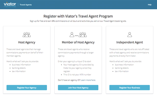 Host Agencies For Travel Agents In India
