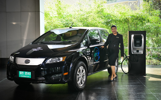 Millennium Hilton Bangkok launches e-limousine service with