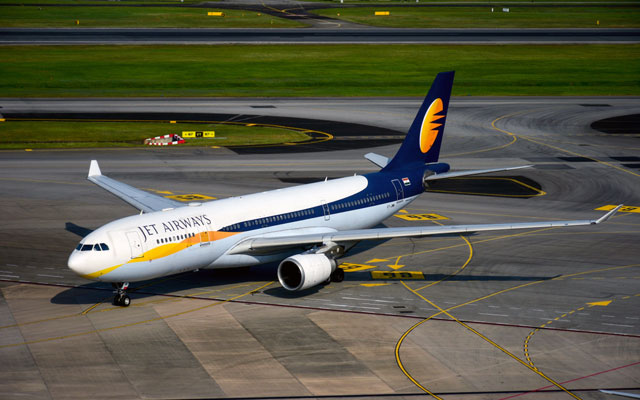 Jet Airways cancels flights on global routes
